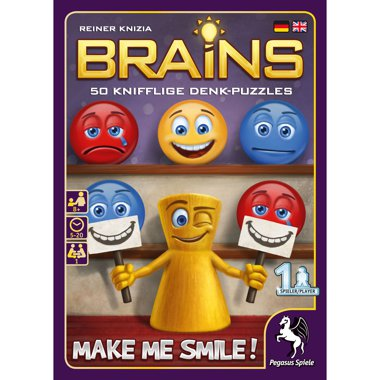 Copertina di Brains - Make me Smile!