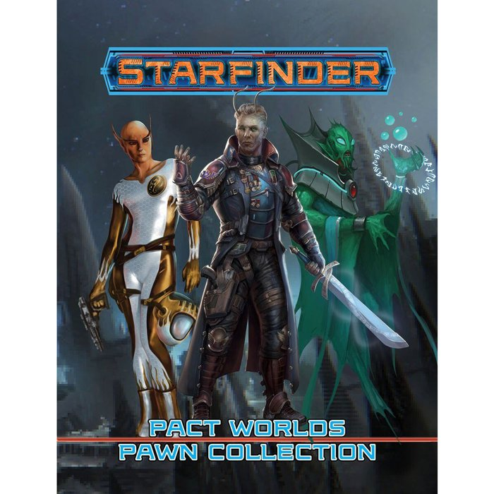 Copertina di Starfinder Pawns: Pact Worlds Pawn Collection