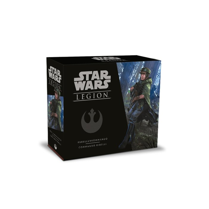 Copertina di Star Wars Legion: Commando Ribelli