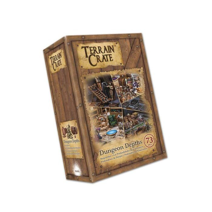 Copertina di Terrain Crate: Dungeon Depths