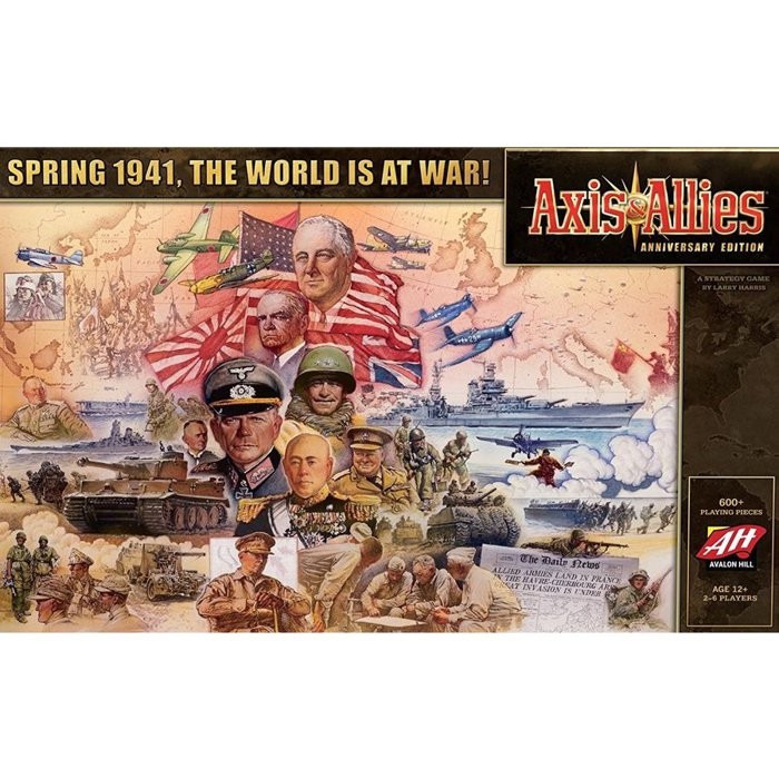 Copertina di Axis & Allies: Anniversary Edition