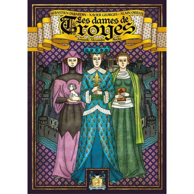 Copertina di Troyes: The Ladies of Troyes