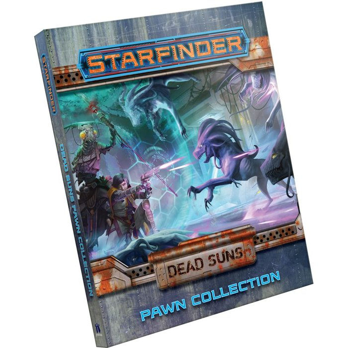 Copertina di Starfinder Pawns: Dead Suns Pawn Collection