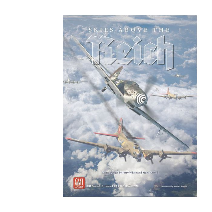Copertina di Skies Above the Reich