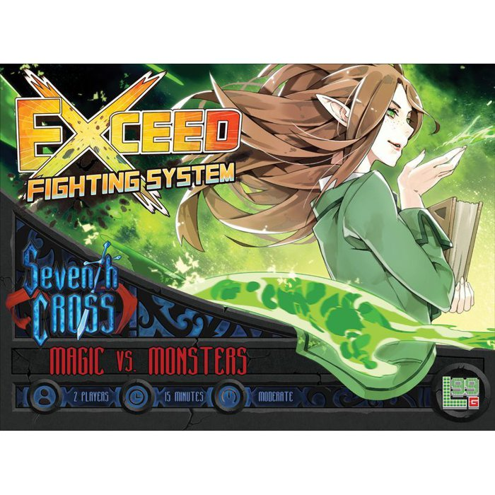 Copertina di Exceed: Seventh Cross - Magic vs Monsters