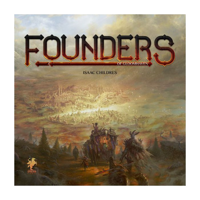 Copertina di Founders of Gloomhaven