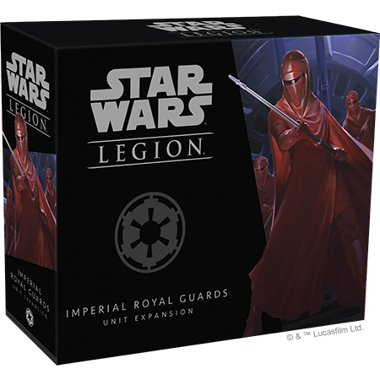 Copertina di Star Wars Legion: Guardie Reali Imperiali