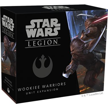 Copertina di Star Wars Legion: Guerrieri Wookie
