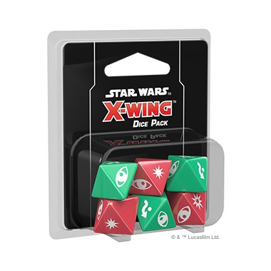 Copertina di Star Wars X-Wing 2E: Pack Dadi