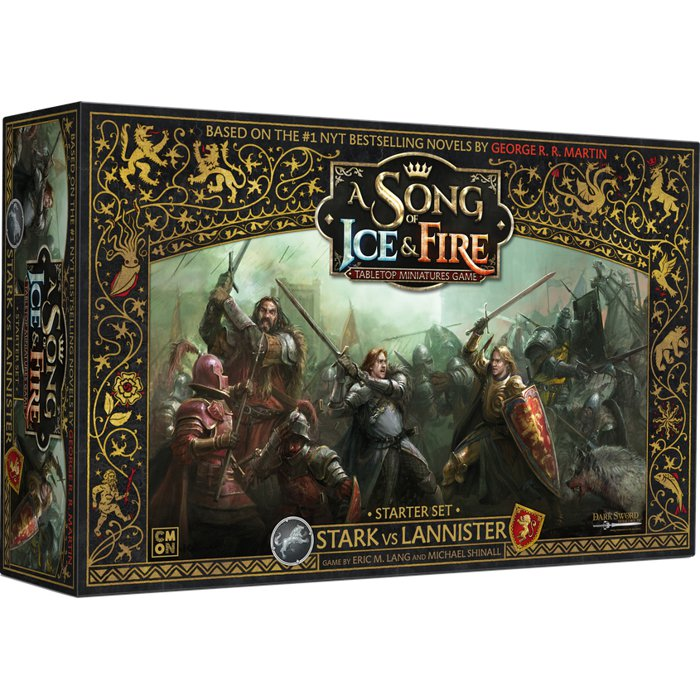 Copertina di A Song of Ice and Fire: Starter Set - Stark vs Lannister
