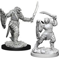 D&D: Nolzur's Marvelous Miniatures - Dragonborn Female Paladin