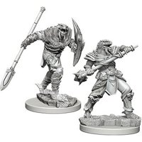 D&D: Nolzur's Marvelous Miniatures - Dragonborn Male Fighter with Spear