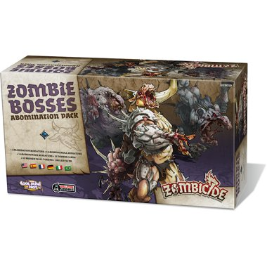 Copertina di Zombicide - Black Plague: Zombie Bosses Abomination Pack