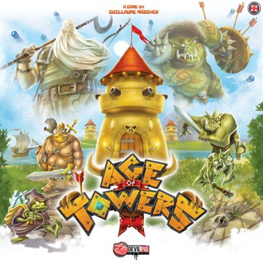 Copertina di Age of Towers