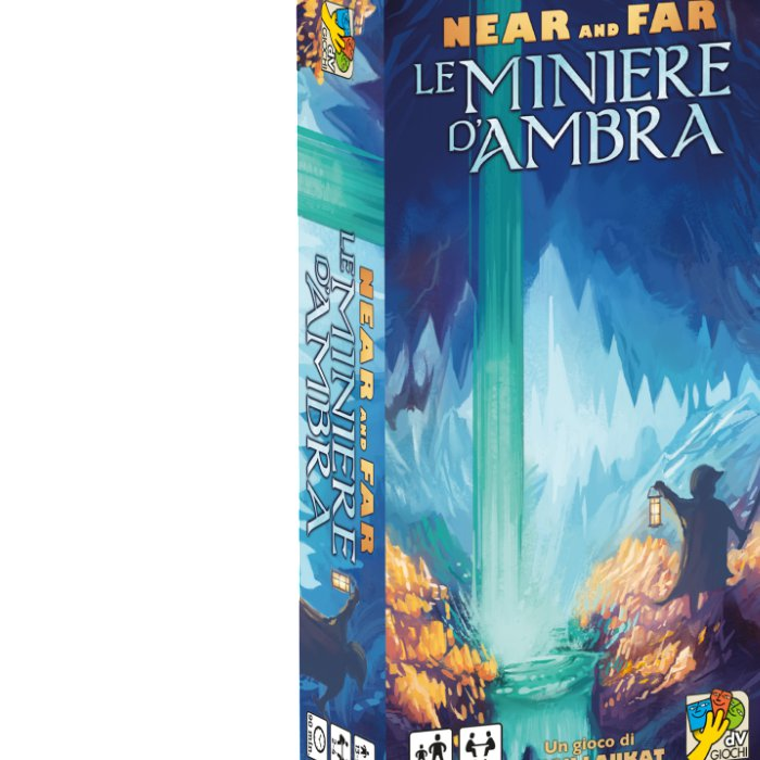 Copertina di Near and Far: Le Miniere d'Ambra