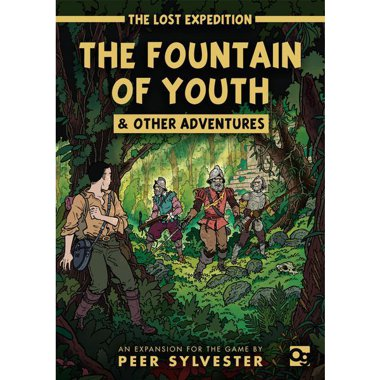 Copertina di The Lost Expedition: The Fountain of Youth & Other Adventures