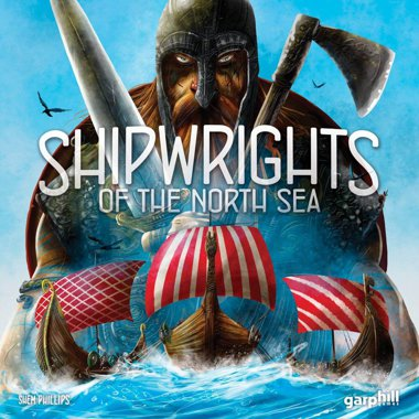 Copertina di Shipwrights of the North Sea