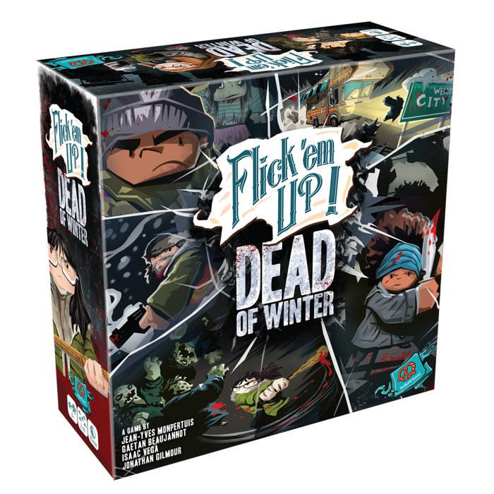 Copertina di Flick 'em Up!: Dead of Winter