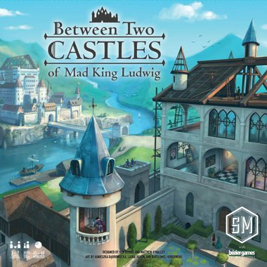 Copertina di Between Two Castles of Mad King Ludwig