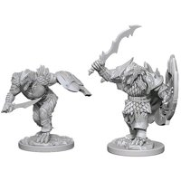 D&D: Nolzur's Marvelous Miniatures - Dragonborn Male Fighter