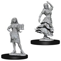 Pathfinder: Deep Cuts Miniatures - Bartender, Dancing Girl