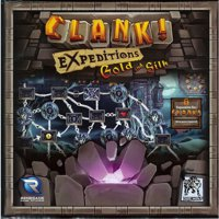 Clank! Edizione Inglese: Expeditions - Gold and Silk