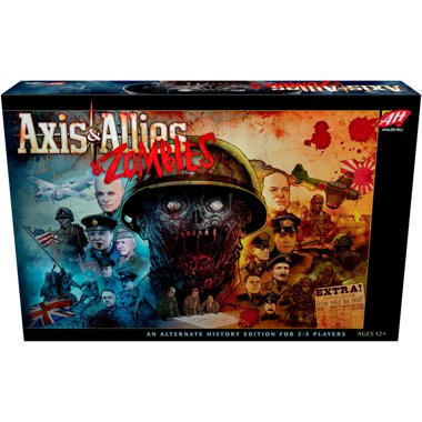 Copertina di Axis & Allies: Zombies