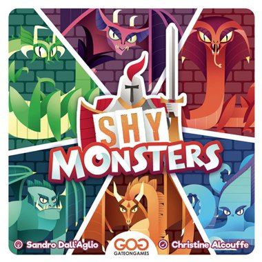 Copertina di Shy Monsters