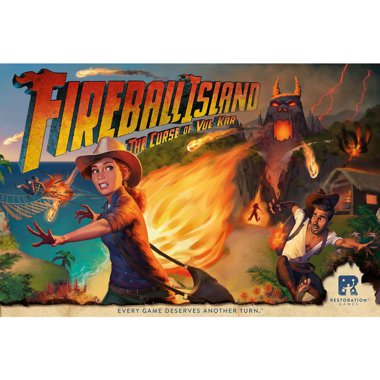 Copertina di Fireball Island: The Curse of Vul-Kar