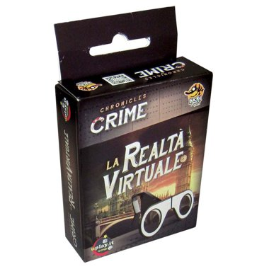 Copertina di Chronicles of Crime: La Realtà Virtuale