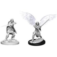 D&D: Nolzur's Marvelous Miniatures - Aasimar Female Fighter