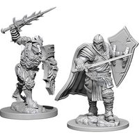 D&D: Nolzur's Marvelous Miniatures - Death Knight & Helmed Horror