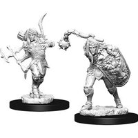 Pathfinder: Deep Cuts Miniatures - Elf Male Fighter