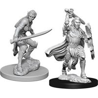 D&D: Nolzur's Marvelous Miniatures - Elf Female Fighter