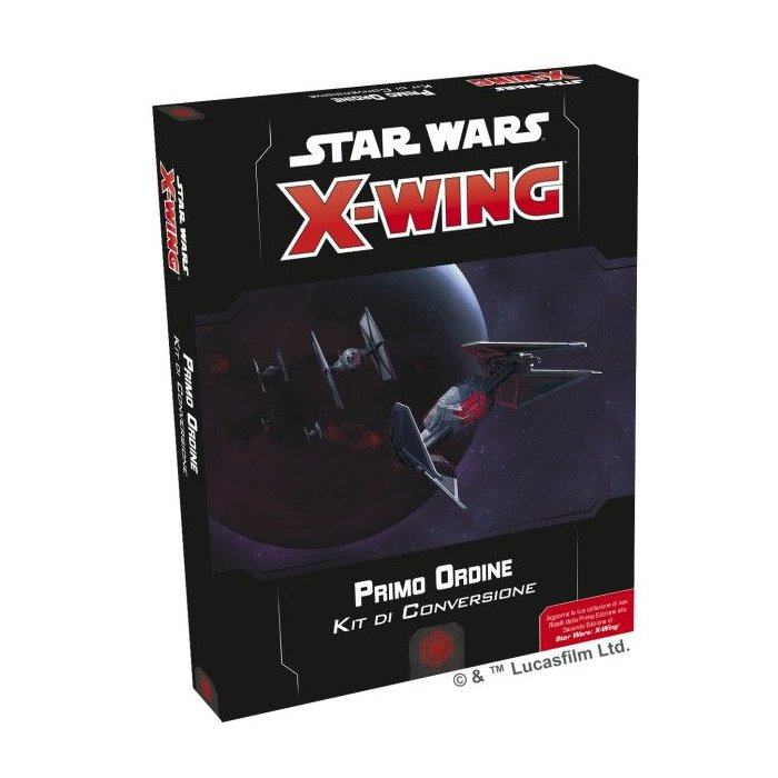 Copertina di Star Wars X-Wing 2E: Kit Conversione - Primo Ordine