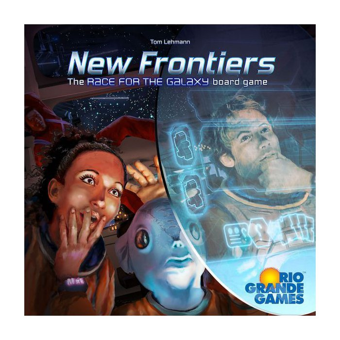 Copertina di Race for the Galaxy - New Frontiers