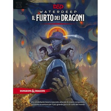 Copertina di Dungeons & Dragons: Waterdeep - Il Furto dei Dragoni