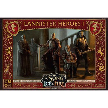 Copertina di A Song of Ice and Fire: Eroi Lannister 1