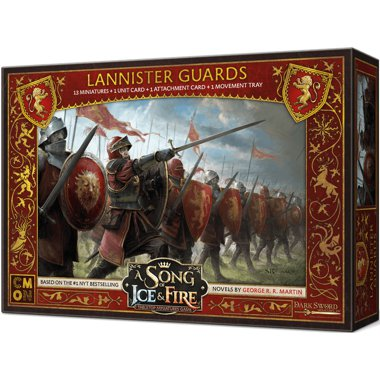 Copertina di A Song of Ice and Fire: Guardie Lannister