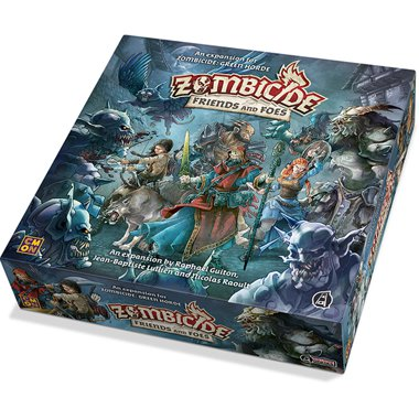 Copertina di Zombicide - Black Plague: Friends and Foes