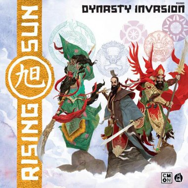 Copertina di Rising Sun: Dynasty Invasion