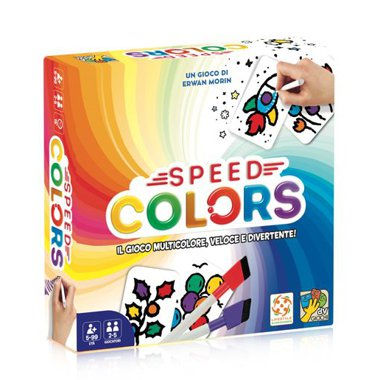 Copertina di Speed Colors