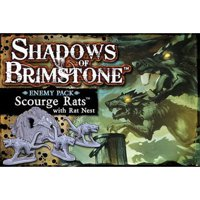 Shadows over Brimstone: Enemy Pack - Scourge Rats