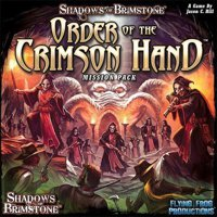Shadows over Brimstone: Mission Pack - Order of the Crimson Hand