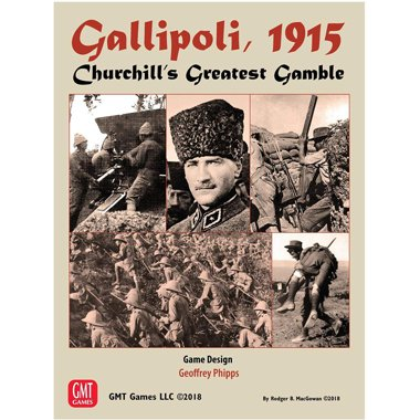 Copertina di Gallipoli, 1915 - Churchill's Greatest Gamble