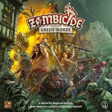 Copertina di Zombicide - Black Plague Green Horde
