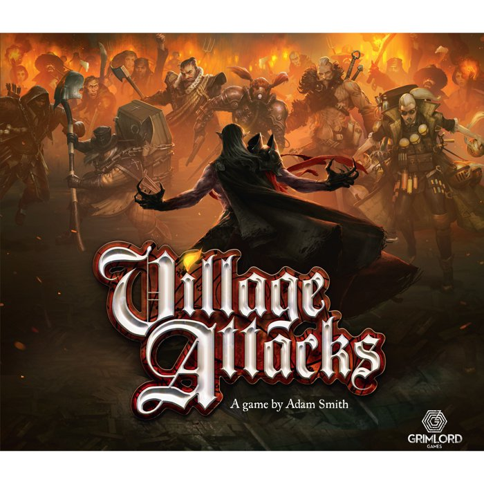 Copertina di Village Attacks