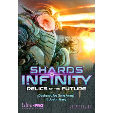 Copertina di Shards of Infinity: Relics of the Future