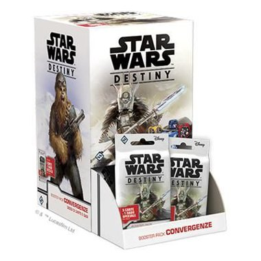 Copertina di Star Wars Destiny: Booster Box - Convergenze