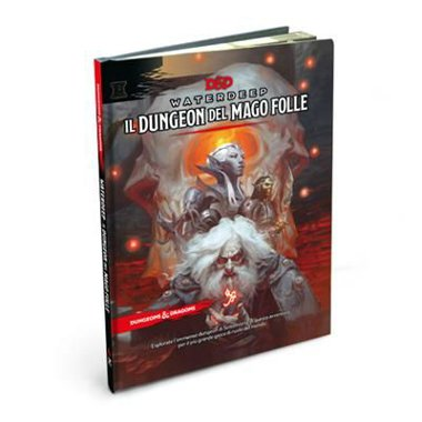 Copertina di Dungeons & Dragons: Waterdeep - Il Dungeon del Mago Folle